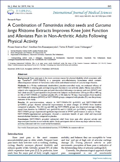 A picture of the Intern journal study of Tamaflex