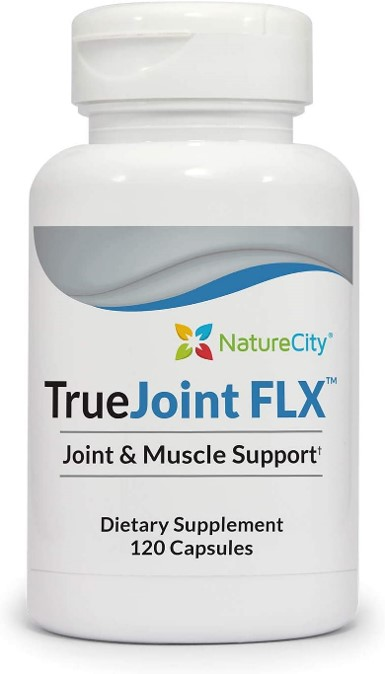A photo of a bottle of TrueJoint_FLX